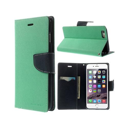 Mercury (Turkos) iPhone 6 Plus Flip-Fodral