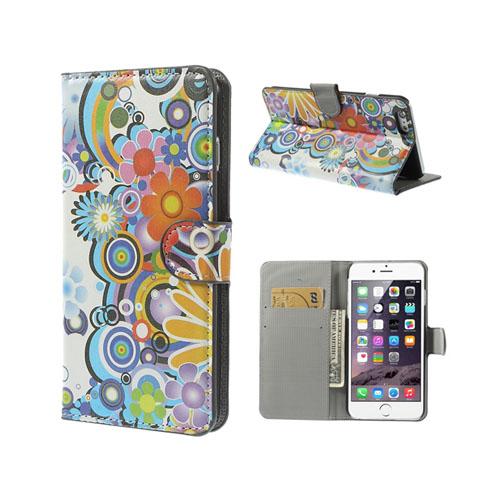 Moberg (Färgglada Blommor) iPhone 6 Plus Fodral