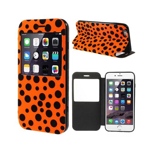 Flash (Orange) iPhone 6 Plus Flip Fodral