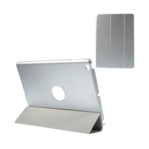 Woven (Silver) iPad Air 2 Triple-Fold Fodral