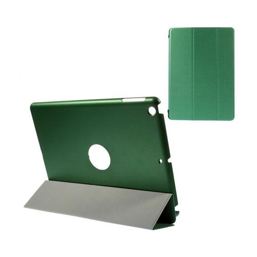 Woven (Grön) iPad Air 2 Triple-Fold Fodral