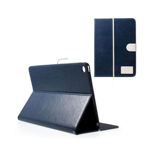 Burton (Mörk Blå / Vit) iPad Air 2 Stativ Fodral