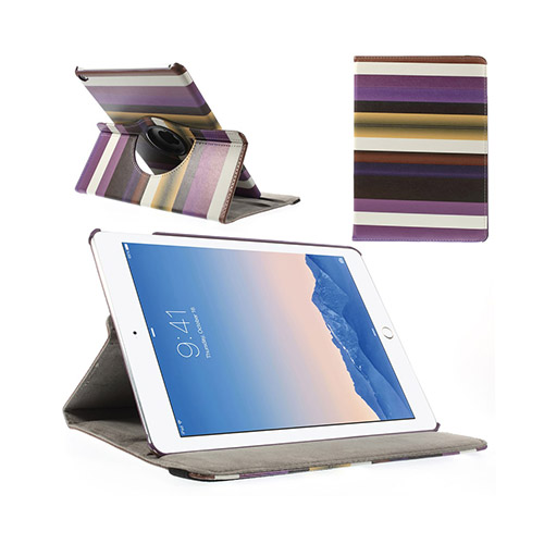Rainbow (Lila) iPad Air 2 Smart Fodral