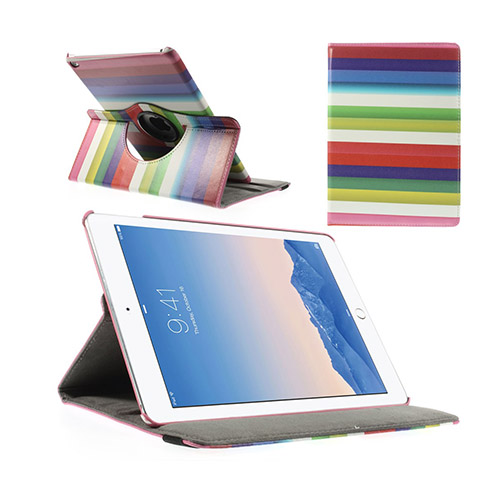 Rainbow (Knallrosa) iPad Air 2 Smart Fodral
