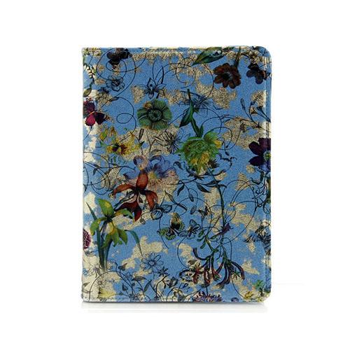 Borelius Mönster iPad Air 2 Fodral – Ljus Blå Blommor & Fjärilar