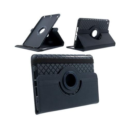 Jessen (Mörk Blå) iPad Mini 2 / Mini 3 Läder Roterande Stativ