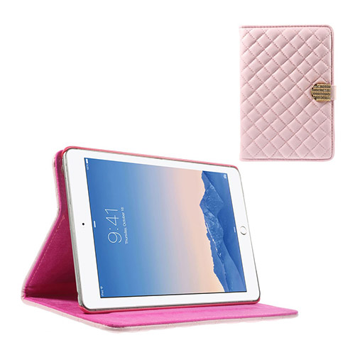 Mellvig Diamond (Rosa) iPad Mini 2 / Mini 3 Flip-Fodral