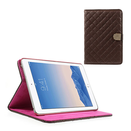 Mellvig Diamond (Brun) iPad Mini 2 / Mini 3 Flip-Fodral