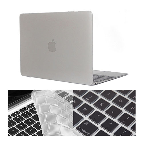 "HAT PRINCE MacBook 12"" with Retina Display Skal – Transparent"