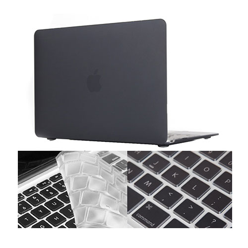 "HAT PRINCE MacBook 12"" with Retina Display Matte Skal – Svart"