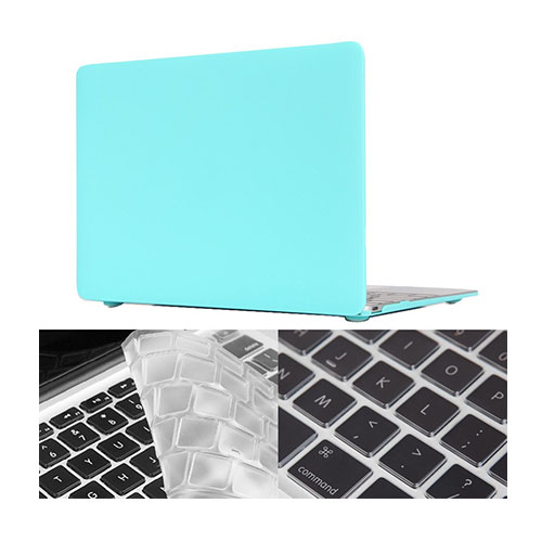 "HAT PRINCE MacBook 12"" with Retina Display Matte Skal – Cyan"
