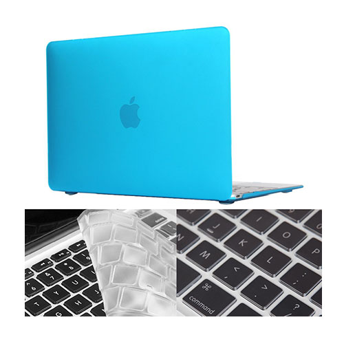 "HAT PRINCE MacBook 12"" with Retina Display Matte Skal – Ljus Blå"