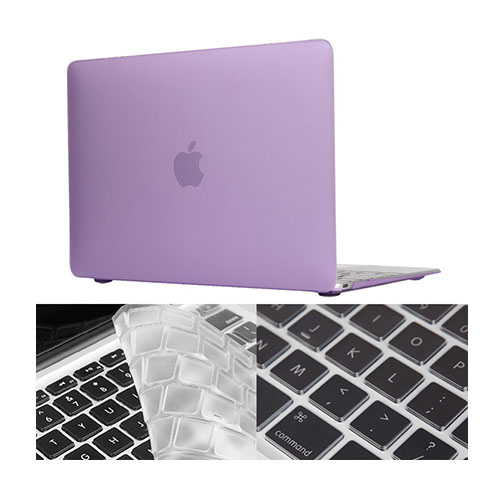 "HAT PRINCE MacBook 12"" with Retina Display Matte Skal – Ljus Lila"
