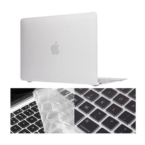"HAT PRINCE MacBook 12"" with Retina Display Matte Skal – Vit"