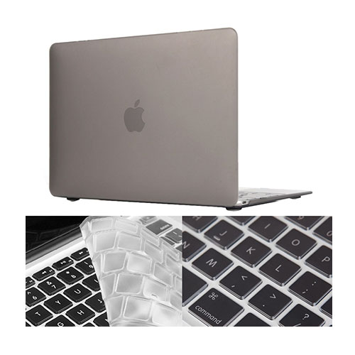 "HAT PRINCE MacBook 12"" with Retina Display Matte Skal – Grå"