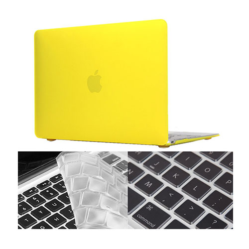 "HAT PRINCE MacBook 12"" with Retina Display Matte Skal – Gul"