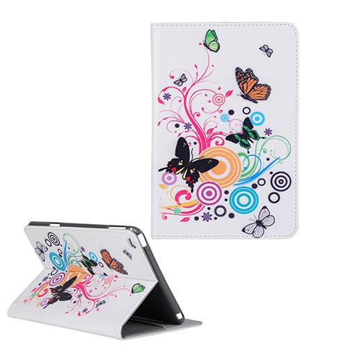 Moberg iPad Mini 4 Fodral – Fjäril och Cirklar