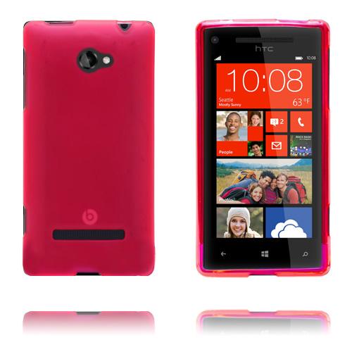 GelCase (Röd) HTC 8S Skal