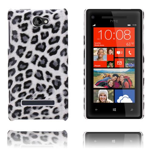 Leopard (Grå) HTC 8S Skal