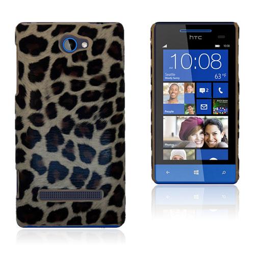 Leopard (Brun) HTC 8S Skal