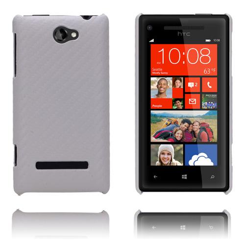 Carbon (Vit) HTC 8S Skal