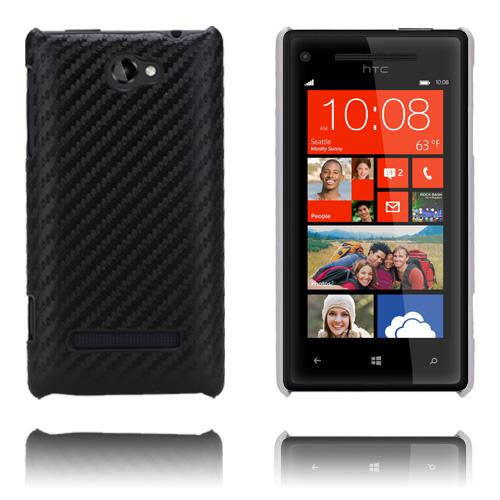 Carbon (Svart) HTC 8S Skal