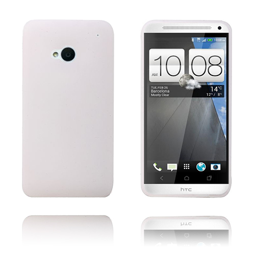 Soft Shell (Vit) HTC One Skal