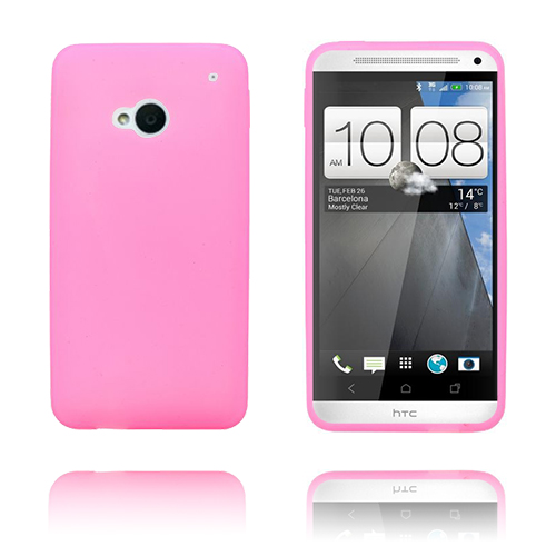 Soft Shell (Rosa) HTC One Skal