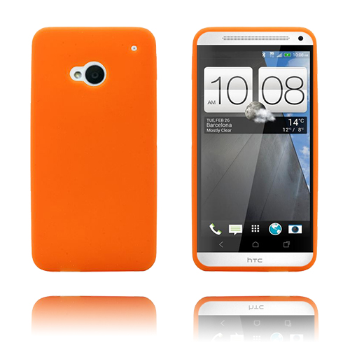Soft Shell (Orange) HTC One Skal