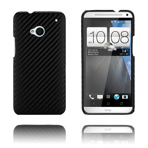 Carbon (Svart) HTC One Skal
