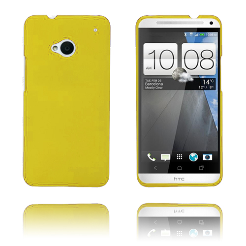 Hard Shell (Gul) HTC One Skal