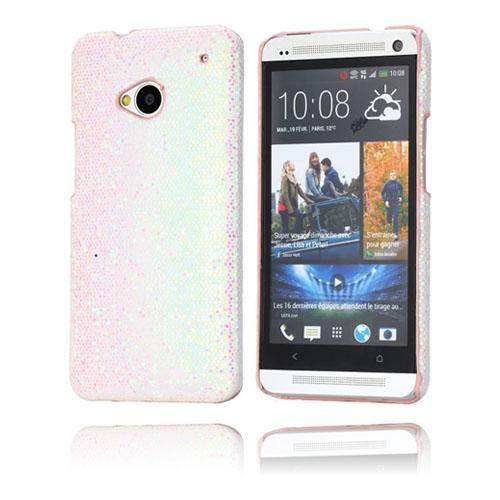 Glitter (Ljusrosa) HTC One Skal
