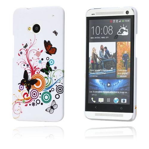 Valentine (Tre Fjärilar) HTC One Skal