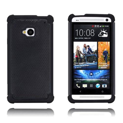 Safe Zone (Svart) HTC One Skal