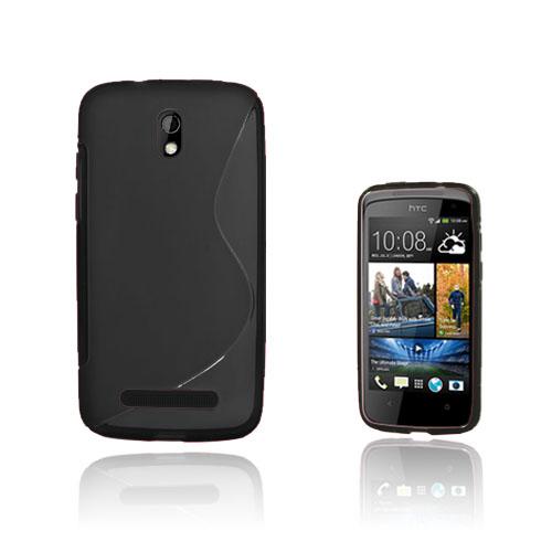 S-Line (Svart) HTC Desire 500 Skal