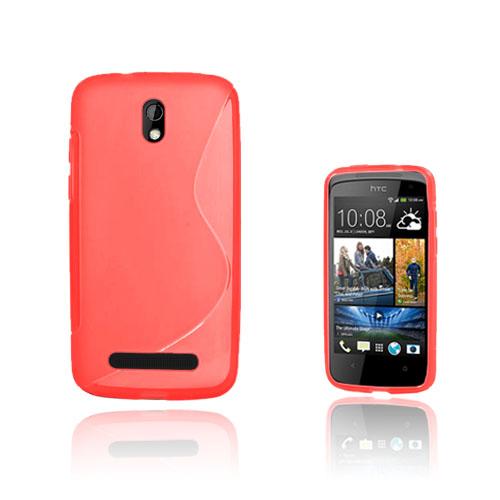 S-Line (Röd) HTC Desire 500 Skal