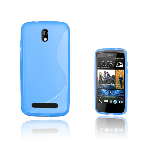 S-Line (Blå) HTC Desire 500 Skal