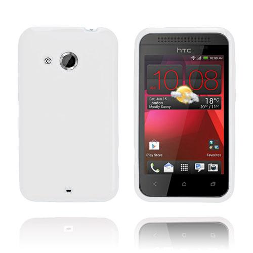 GelCase (Vit) HTC Desire 200 Skal