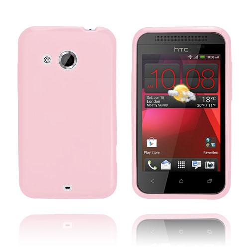 GelCase (Rosa) HTC Desire 200 Skal