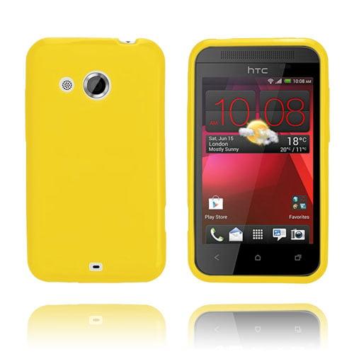 GelCase (Gul) HTC Desire 200 Skal
