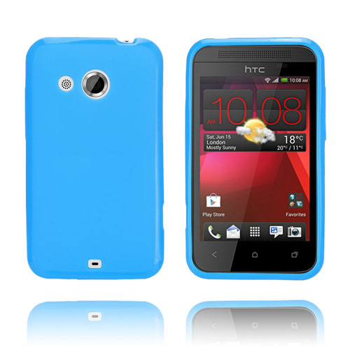 GelCase (Blå) HTC Desire 200 Skal