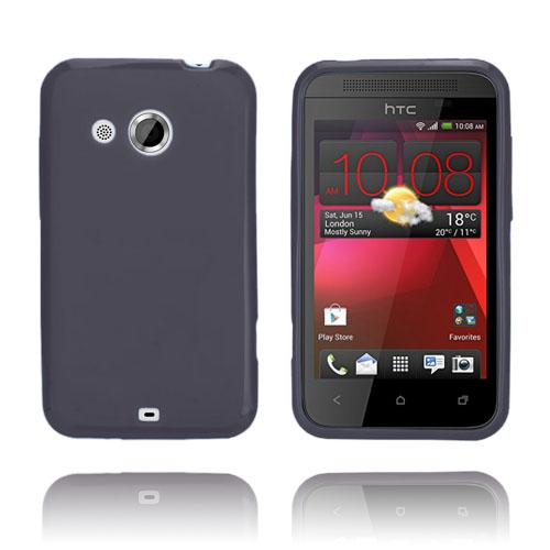GelCase (Svart) HTC Desire 200 Skal