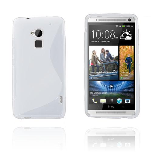 Solid S-Line (Vit) HTC One Max Skal