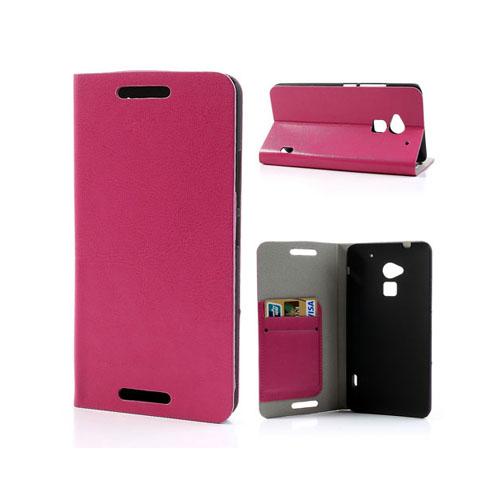 Wall Street (Rosa) HTC One Max Läderfodral
