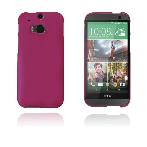 Hard Shell (Knallrosa) HTC One (M8) Skal