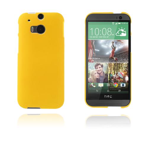 Hard Shell (Gul) HTC One (M8) Skal