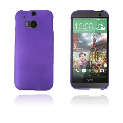 Hard Shell (Lila) HTC One (M8) Skal