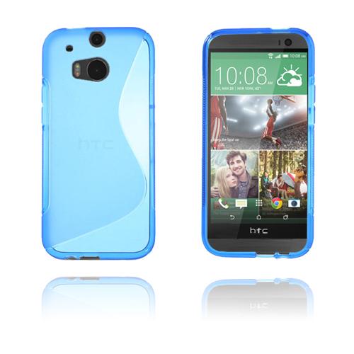 S-Line (Blå) HTC One (M8) Skal