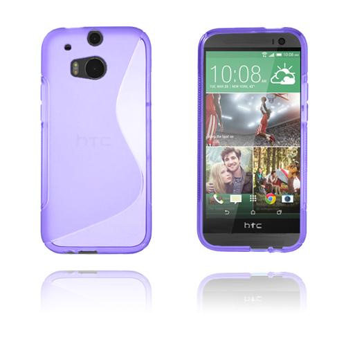 S-Line (Lila) HTC One (M8) Skal