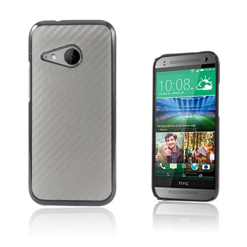 Carbon (Silver) HTC One Mini 2 Skal